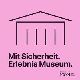 Icon: Mit Sicherheit. Erlebnis Museum.