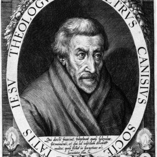 Porträt des Hl. Petrus Canisius, Kupferstich, ca.1600